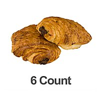 Bakery Croissant Chocolate 6 Count - Each