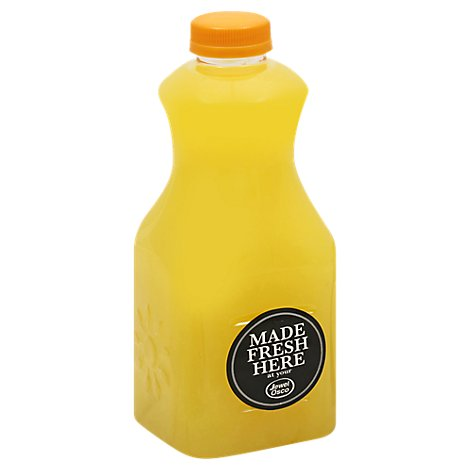 Apple Orange Juice 32 Fz Plus Crv