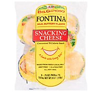 Belgioioso Fontina Snacking - 6 Oz