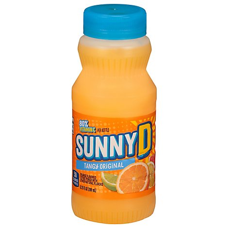 SUNNYD Citrus Punch Tangy Original Orange - 6.75 Fl. Oz.