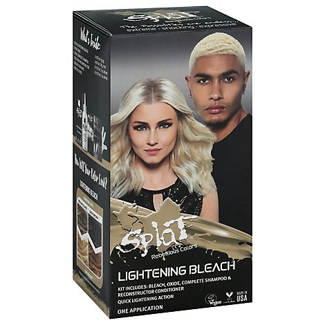 Splat Hair Color Kit Lt Blch - Each