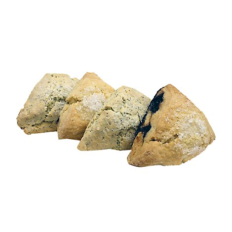 Bakery Scones Blueberry 4 Count - Each