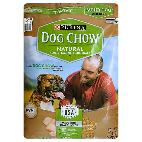 Dog Chow Dog Food Adult Real Chicken - 16.5 Lb