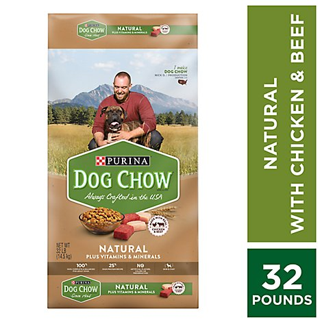 Dog Chow Dog Food Adult Real Chicken - 32 Lb