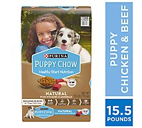 Puppy Chow Puppy Food Natural Bag - 15.5 Lb