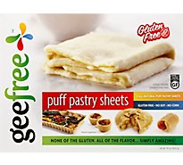 Geefree Puff Pastry Gf Sheet - 18 Oz
