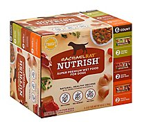 Rachael Ray Nutrish Food for Dogs Super Premium Variety Pack - 6-8 Oz