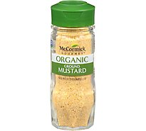 McCormick Gourmet Organic Mustard Ground - 1.75  Oz