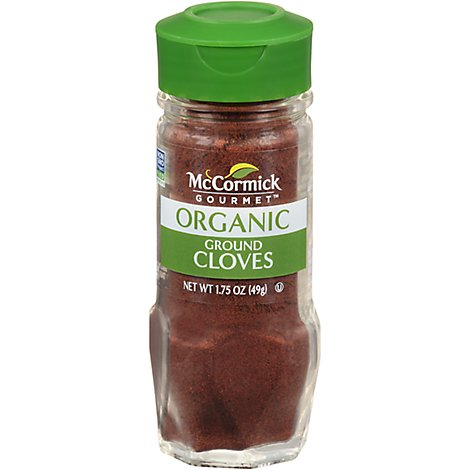 McCormick Gourmet Organic Cloves Ground - 1.75 Oz