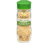 McCormick Gourmet Organic Sesame Seed Toasted - 1.37 Oz