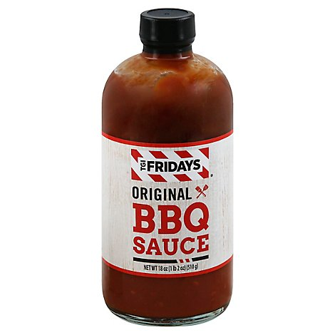 TGI Friday Sauce BBQ Original - 18 Oz