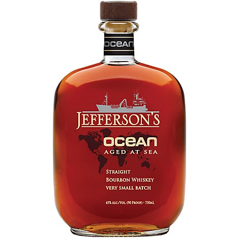 Jeffersons Ocean Bourbon 82 A 90 Proof - 750 Ml