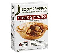 Boomerangs Entree Stout Steak - 6 Oz