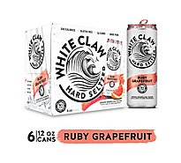 White Claw Hard Seltzer In Cans - 6-12 Fl. Oz.