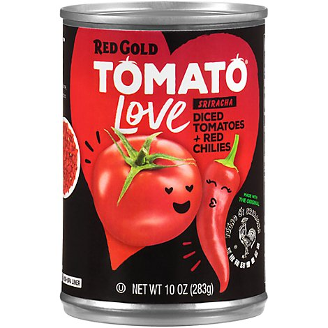 Huy Fong Srircha Sauce Diced Tomatoes And Red Chilies - 10 Oz