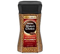 NESCAFE Tasters Choice Coffee Instant House Blend Jar  - 7 Oz