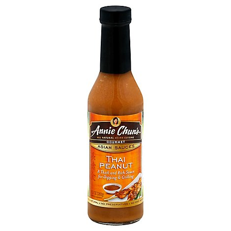 Annie Chuns Sauces Asian Thai Peanut - 9.2 Oz