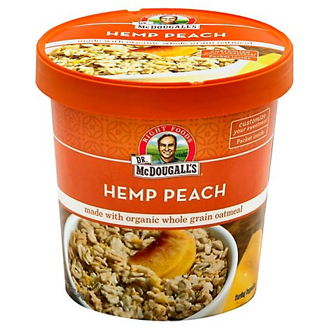 Dr M Cereal Oatml Hemp Peach - 3 Oz