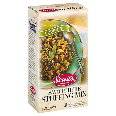 Streits Herb Stuffing Mix - 6 Oz