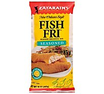 Zatarains New Orleans Style Breading Mix Seafood Fish Fri Seasoned - 10 Oz