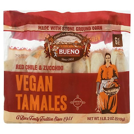 Buen Tamale Red Chile Vegetabl - 18 Oz