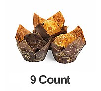 Bakery Muffins Variety Ztf 9 Count - Each