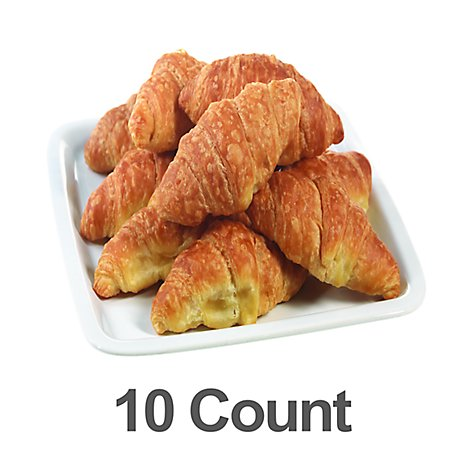 Fresh Baked Mini Butter Croissant - 10 Count