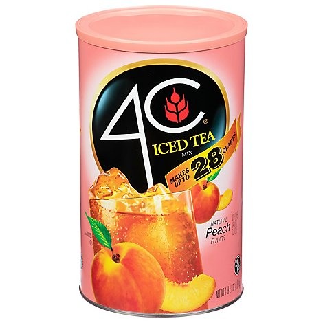 4C Iced Tea Mix Peach - 70.3 Oz