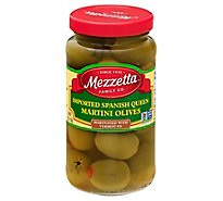 Mezzetta Olives Martini Imported Spanish Queen - 6 Oz
