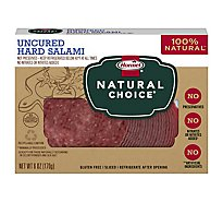 Hormel Natural Choice Salami Hard Uncured - 6 Oz