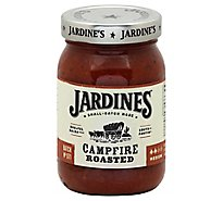Jardines Salsa Campire Roasted Medium Jar - 16 Oz