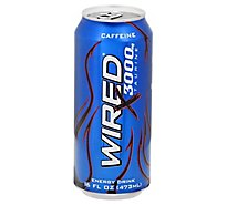 WIRED Energy Supplement Extreme Maximum Taurine - 16 Fl. Oz.