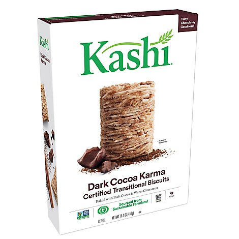 Kashi Breakfast Cereal Dark Cocoa Karma 16.1oz