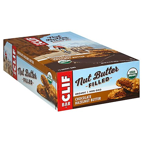 CLIF Energy Bar Nut Butter Filled Organic Chocolate Hazelnut Butter - 1.76 Oz