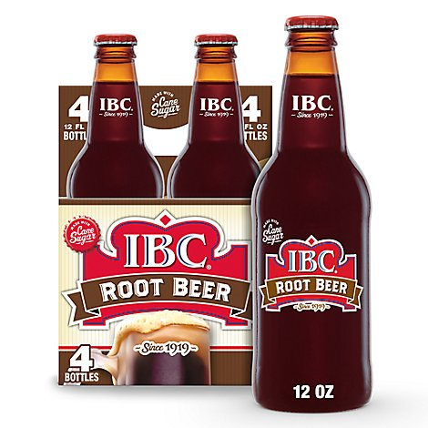 IBC Soda Root Beer - 4-12 Fl. Oz.