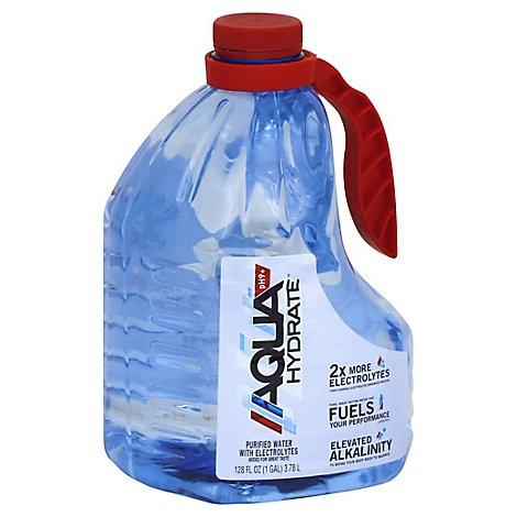AQUAhydrate Enhanced Water with Electrolytes PH9+ - 1 Gallon