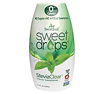 Sweetleaf Stevia Clear Sweetener Drop - 1.7 Oz