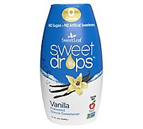 Sweetleaf Stevia Stevia Sweet Drop Vanilla - 1.7 Oz