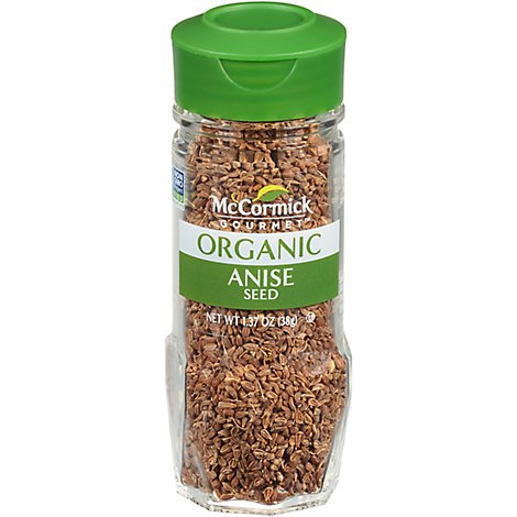 McCormick Gourmet Organic Anise Seed - 1.37 Oz