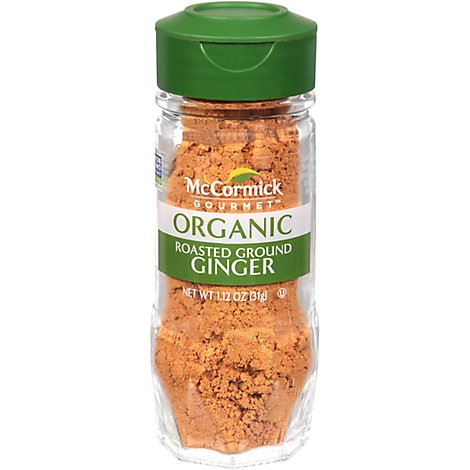 McCormick Gourmet Organic Ginger Roasted Ground - 1.12 Oz