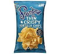 Frontera Tortilla Chips Thin + Crispy - 10 Oz
