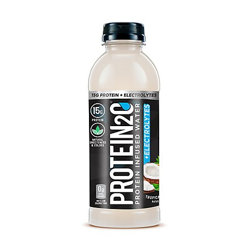 Protein2o Protein Water Tropical Coconut - 16.9 Fl. Oz.
