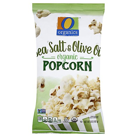 O Organics Organic Popcorn Sea Salt & Olive Oil - 5 Oz