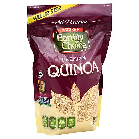 Natures Earthly Choice Quinoa Premium Value Size - 24 Oz