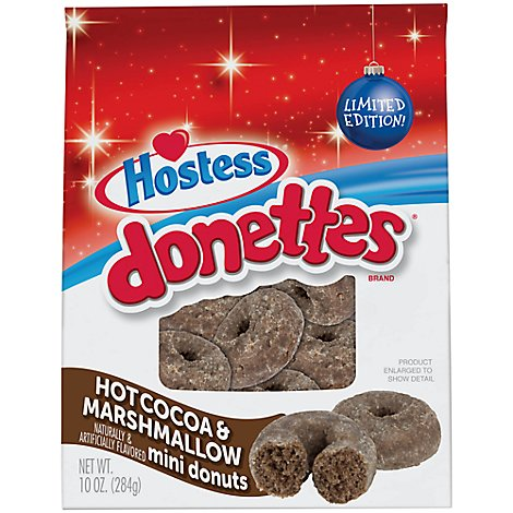 Hostess Hot Cocoa And Marshmellow Donette - Each