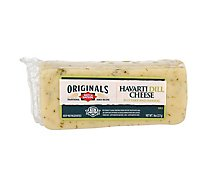 Dietz & Watson Originals Havarti Dill Cheese Block 8 Oz