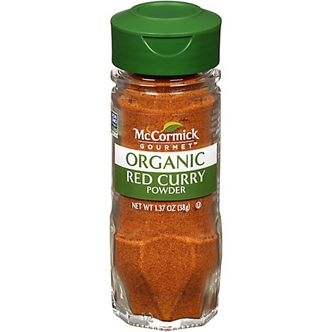 McCormick Gourmet Organic Curry Powder Red - 1.37 Oz
