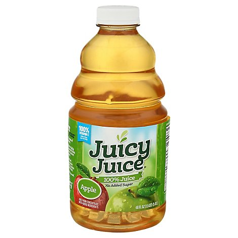 Juicy Juice Apple Juice - 48 Fl. Oz.
