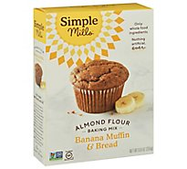 Simple Mills Almond Flour Mix Banana Muffin - 9 Oz