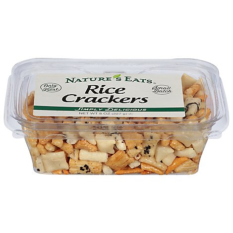 Rice Crackers - 8 Oz